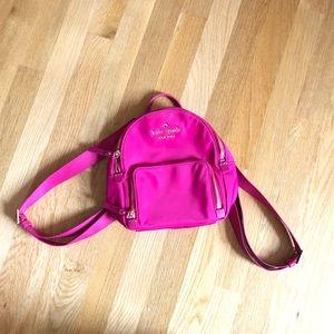 Late spade mini backpack